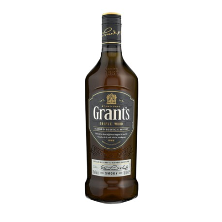 GRANT`S TRIPLE WOOD SMOKY 0,7